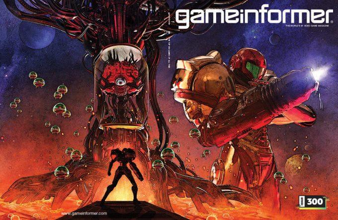 Game Informer 300 Cover Art Greg Semkow Metroid