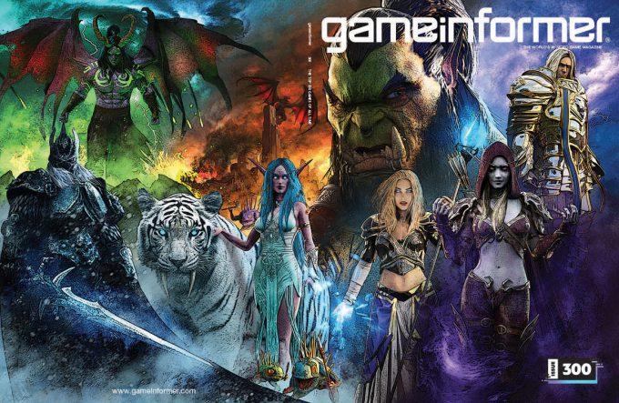 Game Informer 300 Cover Art Greg Semkow World of Warcraft