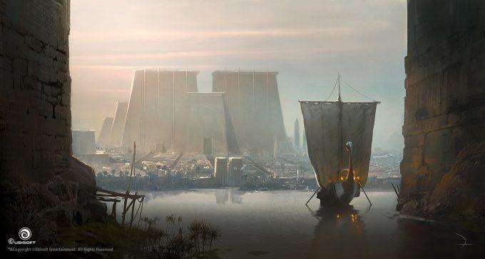 Assassins Creed Origins Concept Art Martin Deschambault aco memphis 02