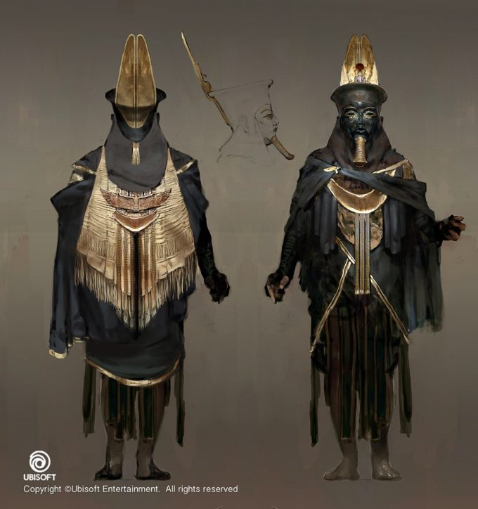 Assassins Creed Origins Concept Art by Jeff Simpson 01