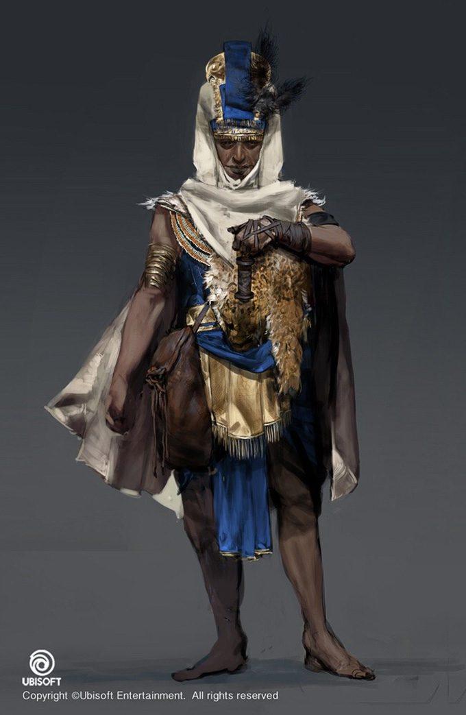 Assassins Creed Origins Concept Art by Jeff Simpson 04 01