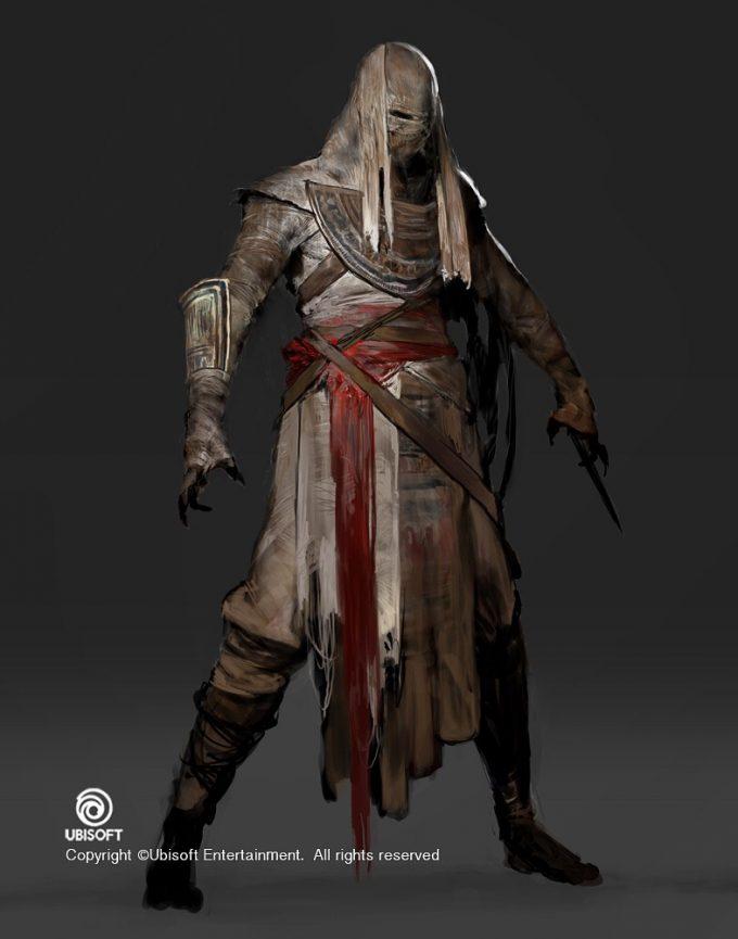 Assassins Creed Origins Concept Art by Jeff Simpson 06 mummy designs 01