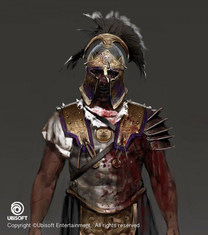 Assassins Creed Origins Concept Art by Jeff Simpson 08