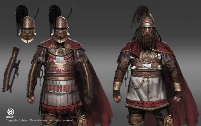 Assassins Creed Origins Concept Art by Jeff Simpson 09 Galatian mercenaries