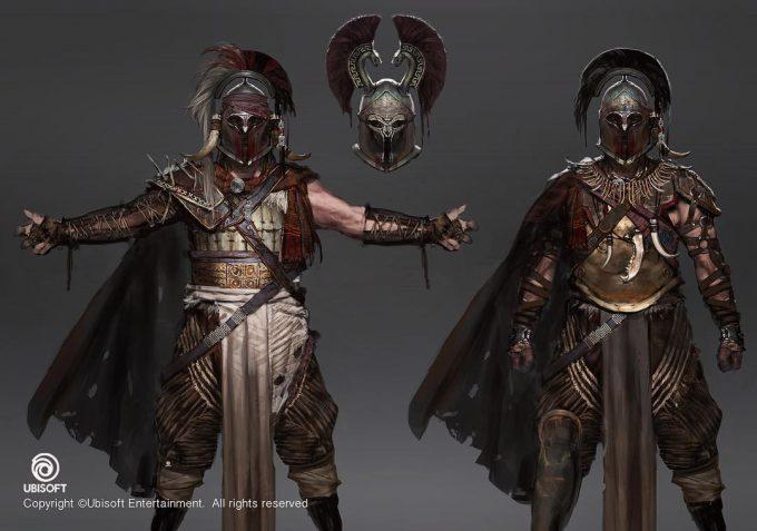 Assassins Creed Origins Concept Art by Jeff Simpson 14 bandit designs