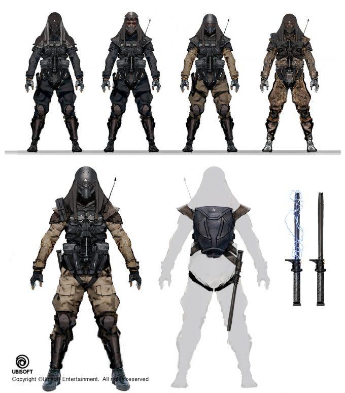 Assassins Creed Origins Concept Art by Jeff Simpson abstergo2