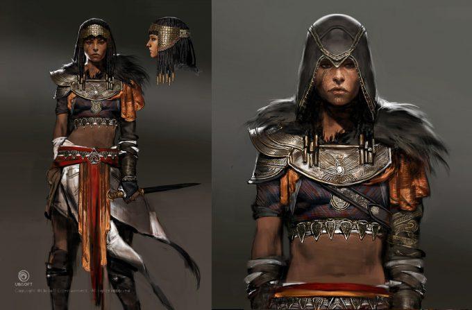 Assassins Creed Origins Concept Art by Jeff Simpson ace ch amunet jsimpson