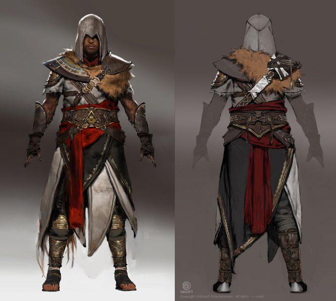 Assassins Creed Origins Concept Art by Jeff Simpson bayek dlc jsimpson