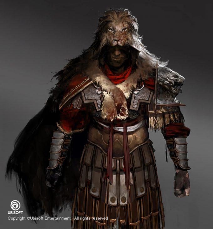 Assassins Creed Origins Concept Art by Jeff Simpson centurion