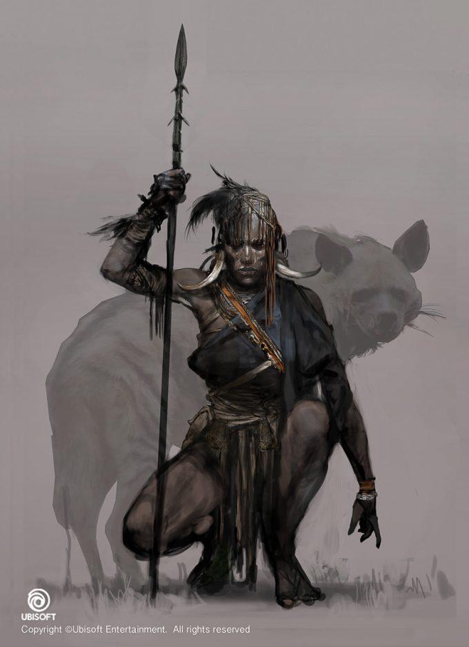 Assassins Creed Origins Concept Art by Jeff Simpson huntress1