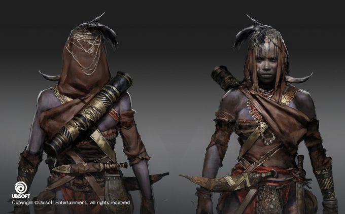 Assassins Creed Origins Concept Art by Jeff Simpson huntress3