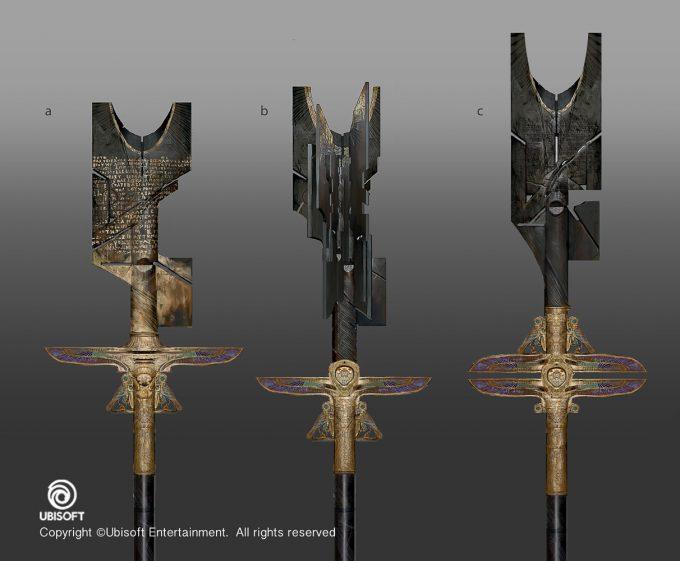 Assassins Creed Origins Concept Art by Jeff Simpson staff1