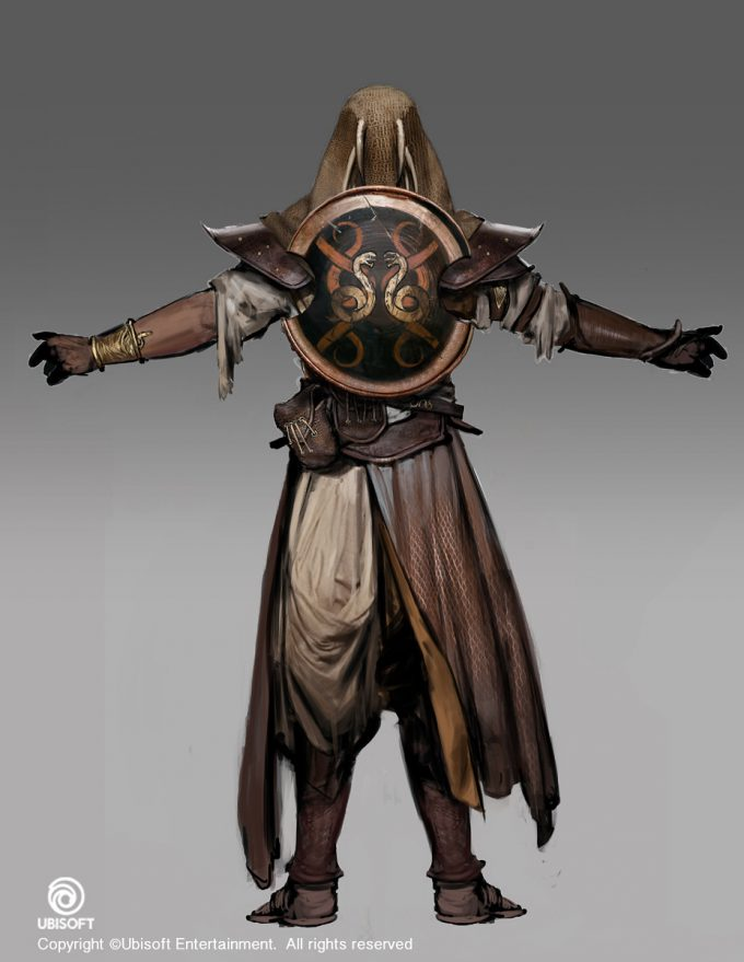Assassins Creed Origins Concept Art by Jeff Simpson viperback