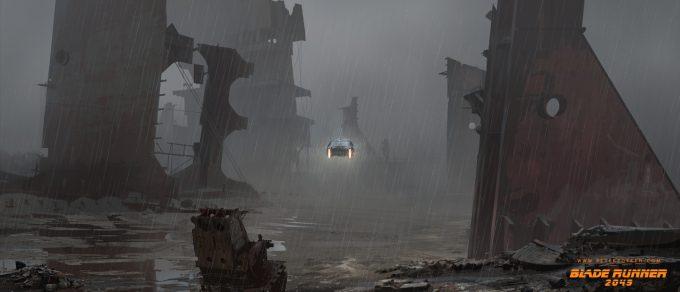 Blade Runner 2049 Concept Art Peter Popken 2043