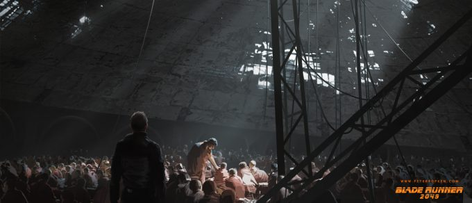 Blade Runner 2049 Concept Art Peter Popken 2046