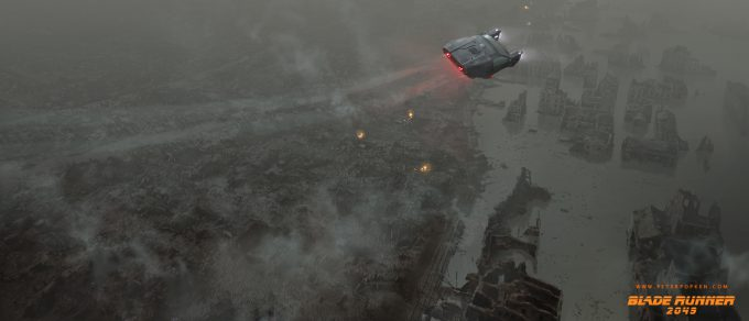 Blade Runner 2049 Concept Art Peter Popken 2047