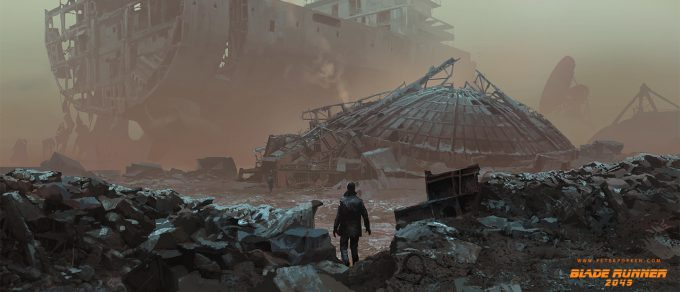 Blade Runner 2049 Concept Art Peter Popken 2049