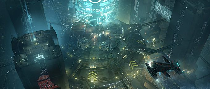 Blade Runner Inspired concept art illustrations 01 emmanuel shiu met 01