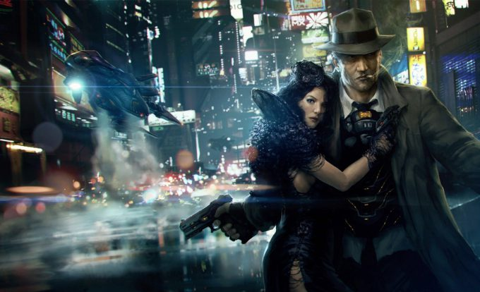 Blade Runner Inspired concept art illustrations 01 marek okon Escape from Neon City