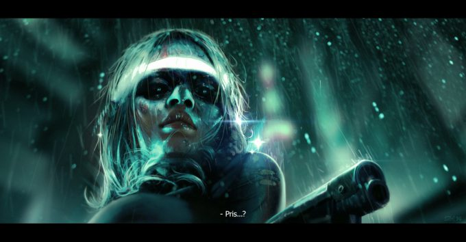 Blade Runner Inspired concept art illustrations 01 simon weaner