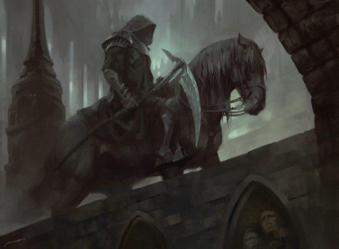 Magic the Gathering Midnight Reaper Art Illustration Sidharth Chaturvedi 01