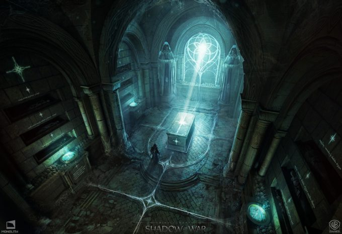 Middle earth Shadow of War Concept Art george rushing puzzleroom 01