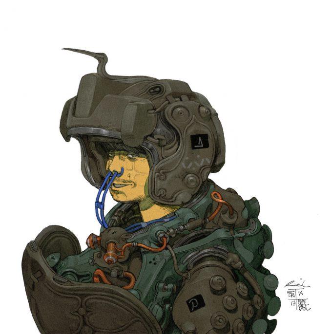 Rael Lyra concept art illustration character design 01
