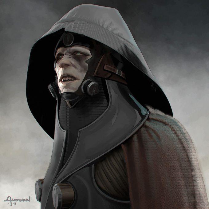 Star Wars The Force Awakens Concept Art CA Sith Villain01