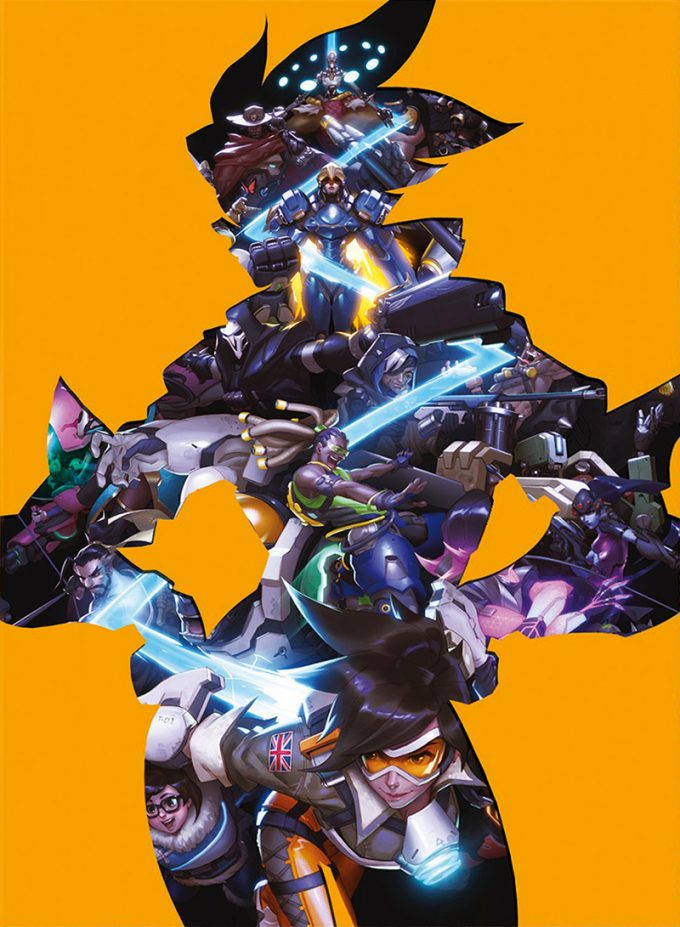 The Art of Overwatch cover 01