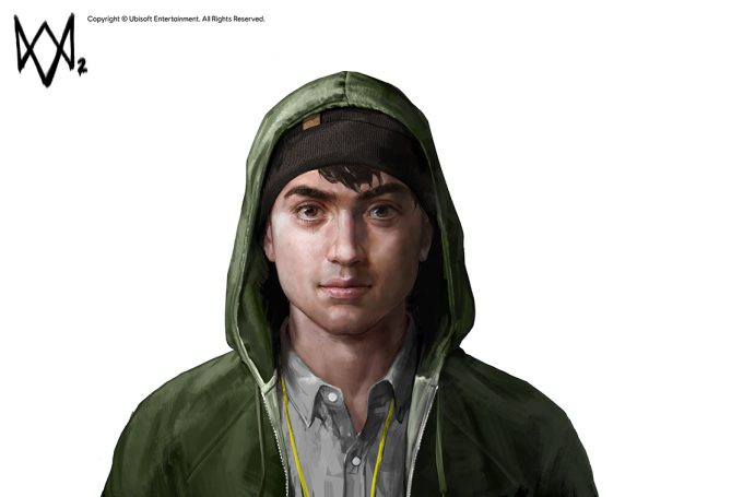 Watch Dogs 2 Concept Art Aadi Salman Josh Face v08b 20p