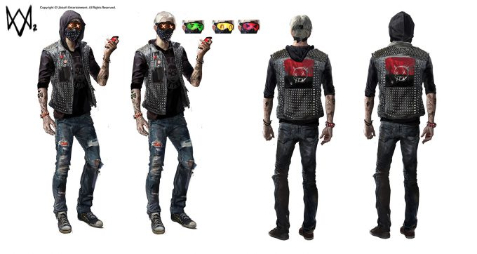 Watch Dogs 2 Concept Art Aadi Salman TheWrench wip 10p