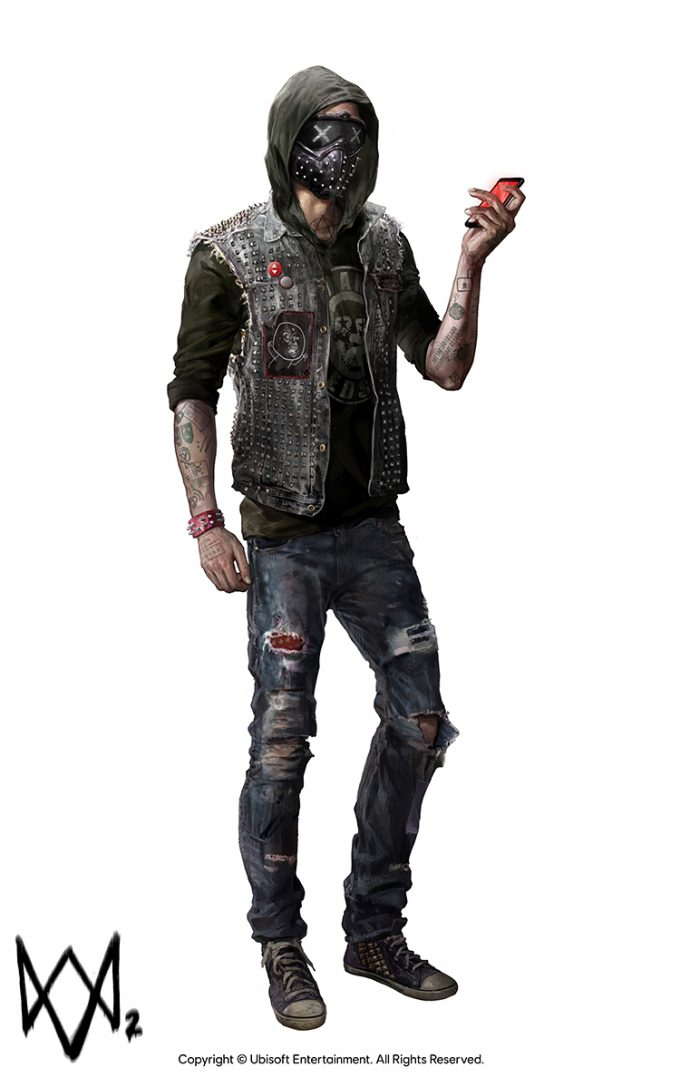 Watch Dogs 2 Concept Art Aadi Salman WRENCH Front 25p