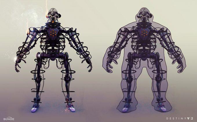 destiny 2 bungie concept art joseph cross calusbot