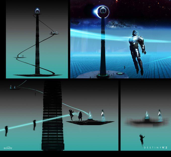 destiny 2 bungie concept art joseph cross trials