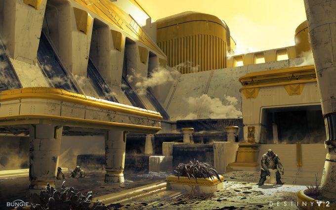 destiny 2 concept art adrian majkrzak leviathan002
