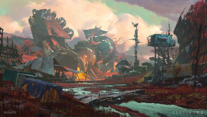 destiny 2 concept art sung choi colony 01