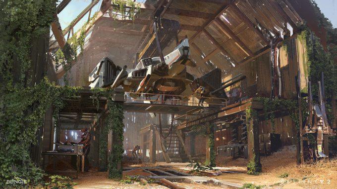 destiny 2 concept art sung choi edz farm barn 01
