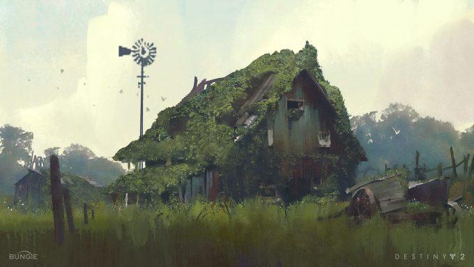 destiny 2 concept art sung choi farm sketch 01