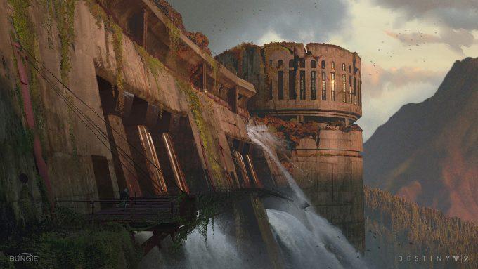 destiny 2 concept art sung choi hydro dam