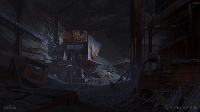 destiny 2 concept art sung choi mine inside