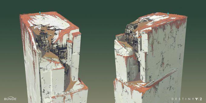 destiny 2 concept art sung choi nessus landing platform 01