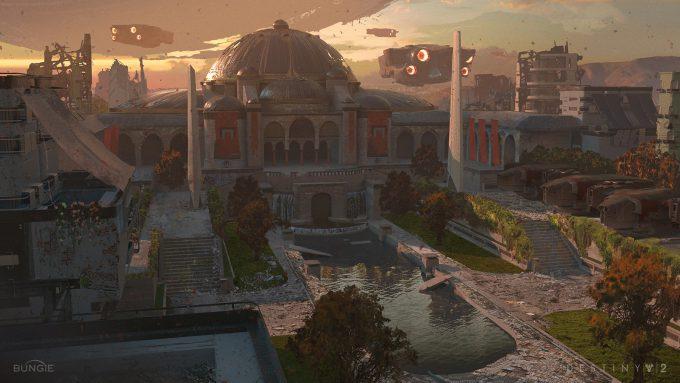 destiny 2 concept art sung choi occupied temple 01
