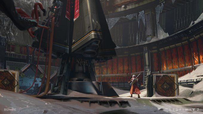 destiny 2 concept art sung choi shaft lauch low