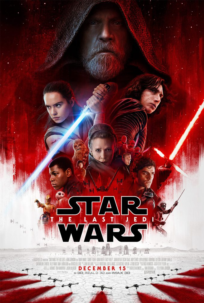 star wars the last jedi theatrical poster