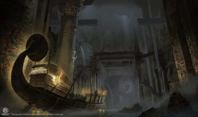 Assassins Creed Origins Concept Art Eddie Bennun ace env duat