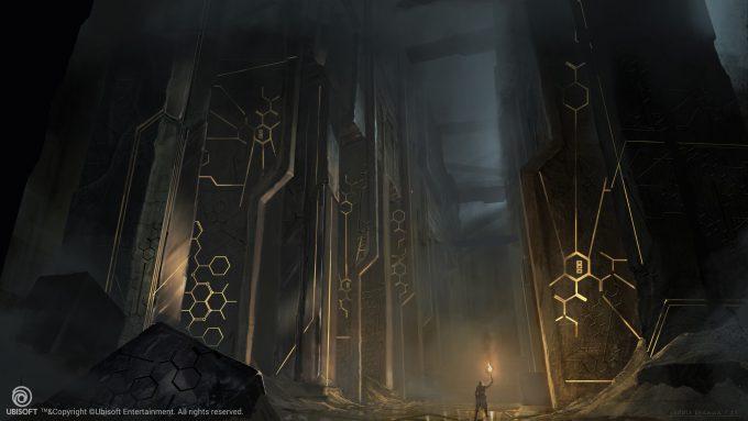 Assassins Creed Origins Concept Art Eddie Bennun ace env firstciv temple
