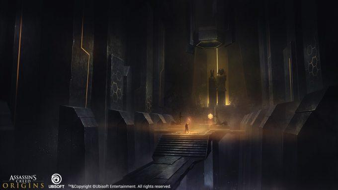 Assassins Creed Origins Concept Art Encho Enchev 4 FC Interior