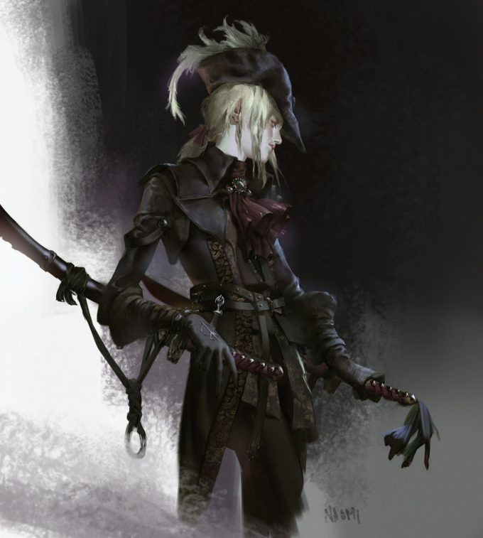 Bloodborne fan art Naomi Baker