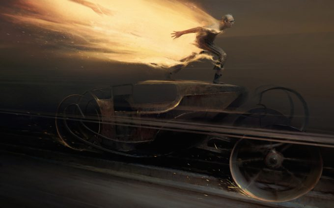 Dishonored Death of the Outsider concept art piotr jablonski burning man legend2 s