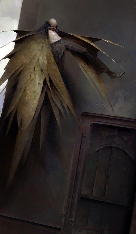 Dishonored Death of the Outsider concept art piotr jablonski i am the birdman ss